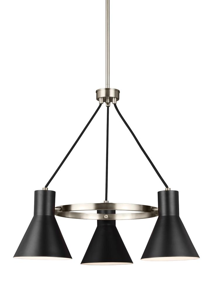 Robinson Lighting in Winnipeg , Manitoba, Canada,  9VFF1, Three Light Chandelier, Towner