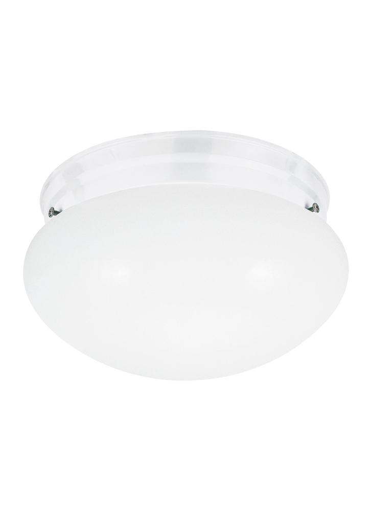 Robinson Lighting in Winnipeg , Manitoba, Canada,  9VGCM, Two Light Ceiling Flush Mount, Webster