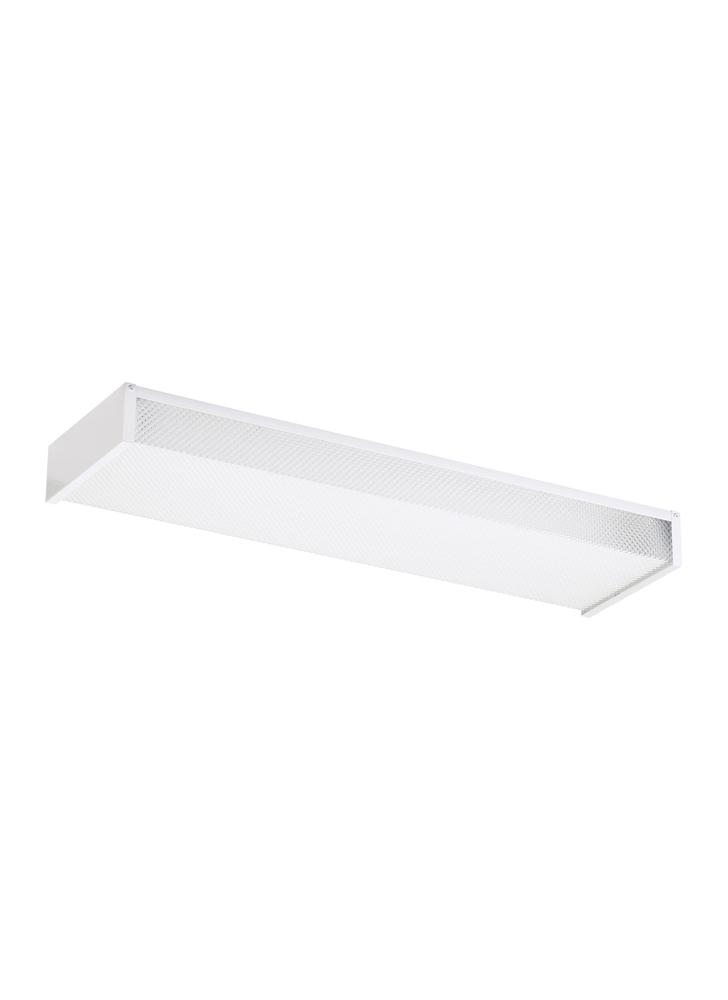 Robinson Lighting in Winnipeg , Manitoba, Canada,  TPYT, Two Light Ceiling Flush Mount, Drop Lens Fluorescent