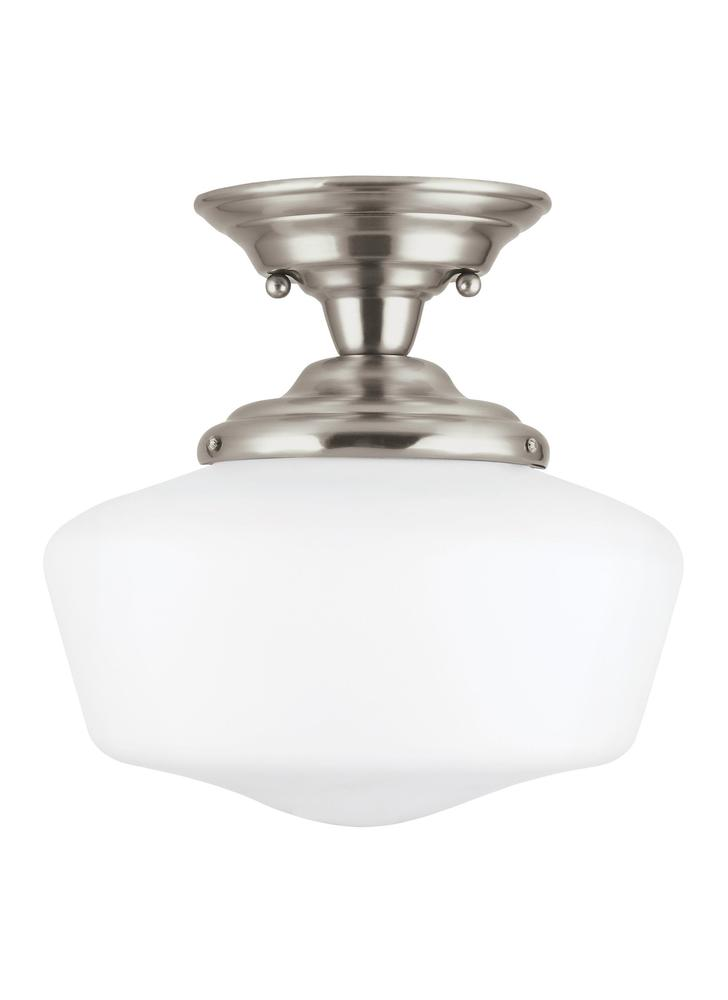 Robinson Lighting in Winnipeg , Manitoba, Canada,  9NHZX, Medium One Light Semi-Flush Mount, Academy