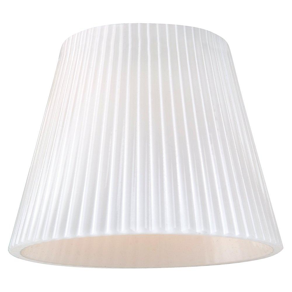 Robinson Lighting in Winnipeg , Manitoba, Canada,  WJT0, Ambiance Cased Opal Ribbed Mini-Glass Shade, Directional Glass and Shades