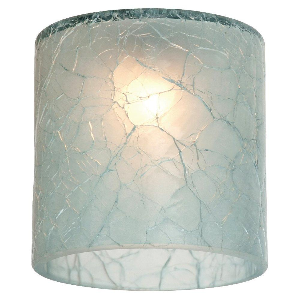 Robinson Lighting in Winnipeg , Manitoba, Canada,  WJT4, Ambiance Crackle Glacier Blue Directional Mini-Glass Shade, Directional Glass and Shades