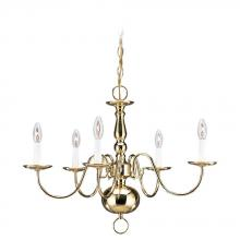 Sea Gull 3410-02 - Five Light Chandelier