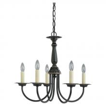 Sea Gull 3916-782 - Five Light Chandelier