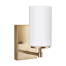 Sea Gull 4124601-848 - One Light Wall / Bath Sconce