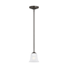 Sea Gull 6139001-782 - One Light Mini-Pendant