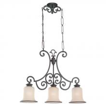 Sea Gull 66145BLE-814 - ENERGY STAR Three-Light Acadia Billiard Chandelier