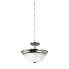 Sea Gull 77950-962 - Two Light Semi-Flush Convertible Pendant