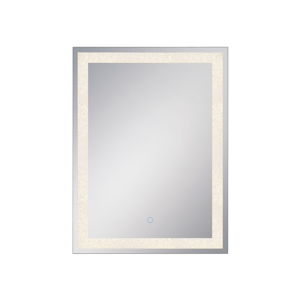 Robinson Lighting in Winnipeg , Manitoba, Canada,  406YN54, Rect Backlit LED Mirror, Crystl, Back-Lit Mirror