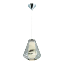 Eurofase Online 30017-016 - Recinto 1-Light Medium Pendant, Chrome Finish