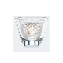 Eurofase Online 31800-013 - Trent Double Glass LED Wall Sconce, Frosted and Clear Glass Shade, Chrome Finish, 5.25 Inches Wide -