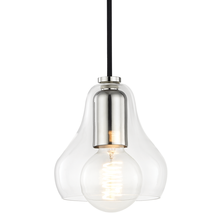 Hudson Valley H104701S-PN - 1 Light Small Pendant