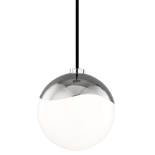 Hudson Valley H125701S-PN - 1 Light Small Pendant