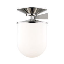 Hudson Valley H214601L-PN - 1 Light Large Semi Flush
