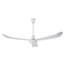 "Canarm CP561136111R - Industrial Fan, CP56S WH 56"" Forward & Reverse, Loose Wire, Comes with 36"" Downrod"