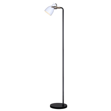 Canarm IFL680A68BGW - ARCHIE, IFL680A68BGW, BK + Gold + WH Color, 1 Lt Floor Lamp, On-Off Switch On Socket, 100W Type A, 1