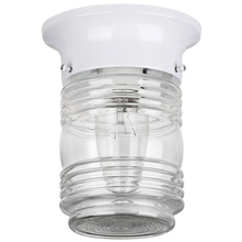 Canarm IOL105WH - Outdoor, IOL105 WH, 1 Jam Jar, 60W Type A