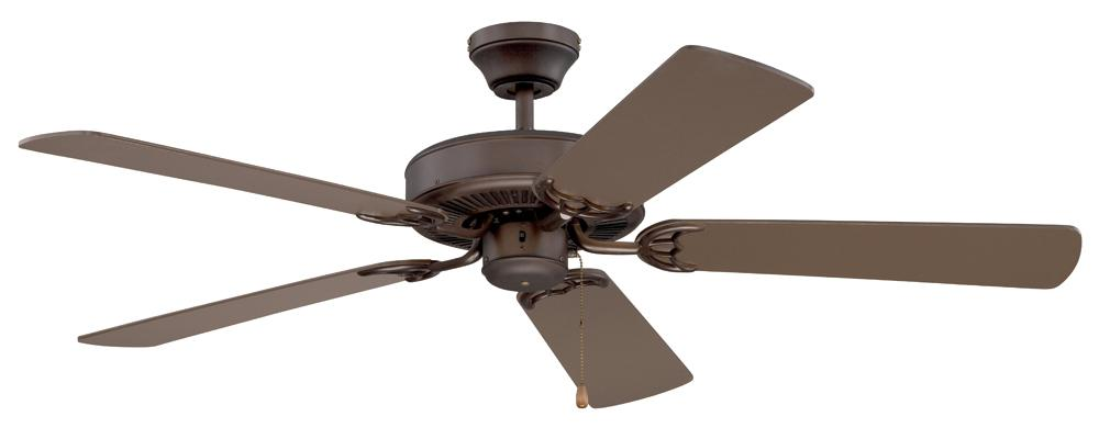 "Robinson Lighting in Winnipeg , Manitoba, Canada,  5W6R0, 52"" Oil Rubbed Bronze Ceiling Fan, Builder Choice"