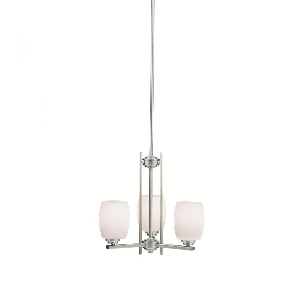 Robinson Lighting in Winnipeg , Manitoba, Canada,  TM3K2, Mini Chandelier 3Lt Led, Eileen