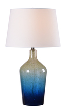 Kenroy Home 33014TEAL - Ombre Table Lamp