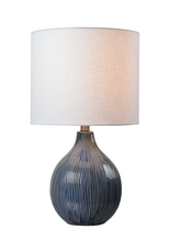 Kenroy Home 33161DBLU - Intaglio Accent Lamp