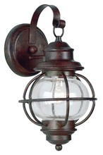 Kenroy Home 90961GC - Hatteras Small Wall Lantern