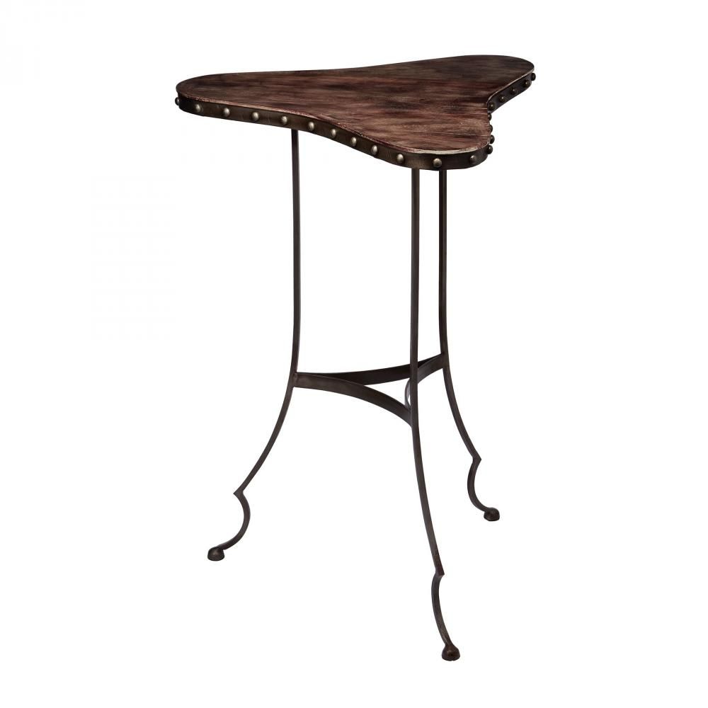 Robinson Lighting in Winnipeg , Manitoba, Canada,  73WHT, Clover Table In Dark Brown And Oil Rubbed Bronze,