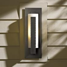 Hubbardton Forge - Canada 307285-SKT-07-HH0066 - Forged Vertical Bars Small Outdoor Sconce