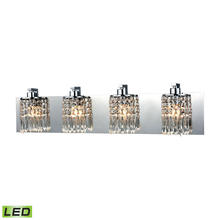 ELK Lighting 11238/4-LED - Optix 4 Light LED Vanity In Polished Chrome