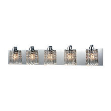 ELK Lighting 11239/5 - Optix 5 Light Vanity In Polished Chrome