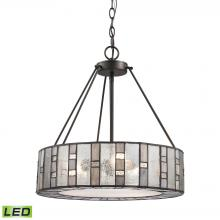ELK Lighting 70212/3-LED - Ethan 3 Light LED Chandelier In Tiffany Bronze