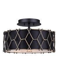 Drum Shade Flush Mounts