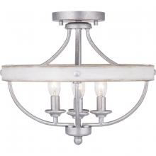 Progress P350117-141 - Gulliver Collection Four-Light Semi-Flush Convertible
