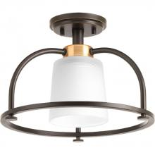 Progress P350032-020 - West Village Collection One-Light Semi-Flush Convertible