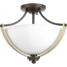 Progress P350034-020 - Noma Collection Two-Light Semi-Flush Convertible