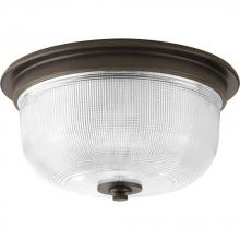 "Progress P3740-74 - Archie Collection Two-Light 12-3/8"" Close-to-Ceiling"