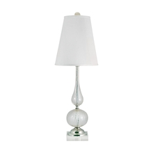 Elk Home 316 - Serrated Venetian Glass Table Lamp in Clear and Gold