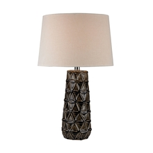 Elk Home D2878 - Stacked Brown Pedals Table Lamp